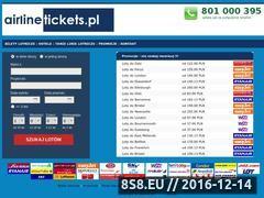 Miniaturka domeny www.airlinetickets.pl