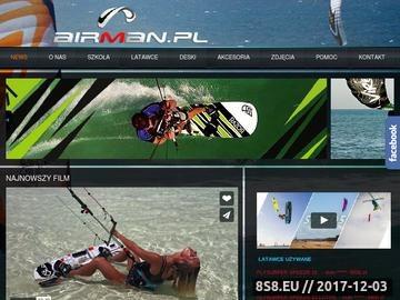 Zrzut strony Profesjonalna szkoła kitesurfingu
