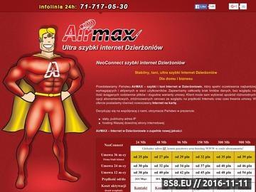 Zrzut strony Dostawca Internetu