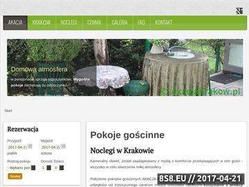 Zrzut strony Pokoje gościnne Kraków - noclegi