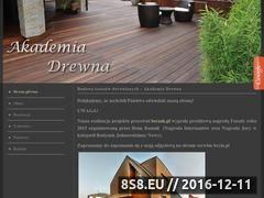 Miniaturka domeny www.akademia-drewna.pl