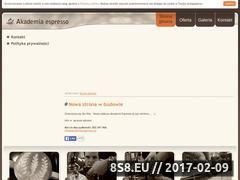 Miniaturka domeny www.akademiaespresso.pl