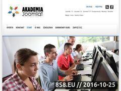 Miniaturka domeny www.akademiajoomla.pl