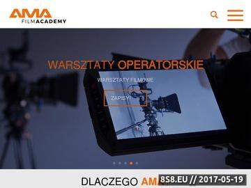 Zrzut strony Akademia filmowa Kraków