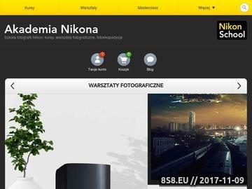 Zrzut strony Kurs fotografii