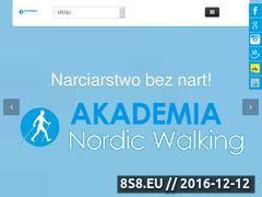 Miniaturka domeny www.akademianordicwalking.pl
