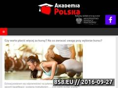 Miniaturka domeny www.akademiapolska.pl