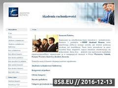 Miniaturka domeny akademiarachunkowosci.pl
