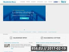 Miniaturka domeny akademiaroca.pl