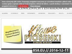 Miniaturka domeny www.akademiasztuk.pl