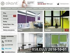 Miniaturka domeny www.akantsklep.pl