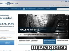 Miniaturka domeny akceptfinance.pl