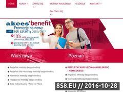Miniaturka Akces-Benefit - szkoły językowe (www.akces-benefit.pl)