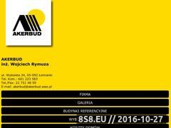 Miniaturka domeny www.akerbud.waw.pl