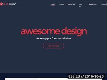 Zrzut strony Projektowanie stron WWW & Reklama