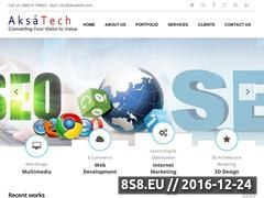 Thumbnail of SEO Services - Aksatech Website