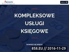 Miniaturka domeny aksson.pl