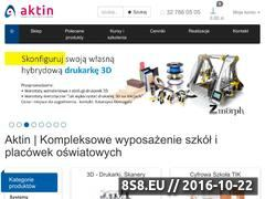Miniaturka domeny aktin.pl
