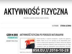 Miniaturka domeny aktywnoscfizyczna.wordpress.com
