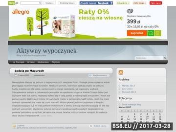 Zrzut strony Udany urlop