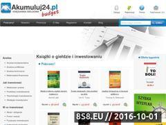 Miniaturka domeny akumuluj24.pl