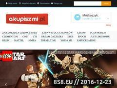 Miniaturka domeny www.akupiszmi.pl