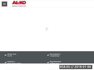 Zrzut strony AL-KO pompa do wody