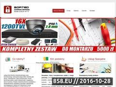 Miniaturka domeny alarmy.sorted.com.pl