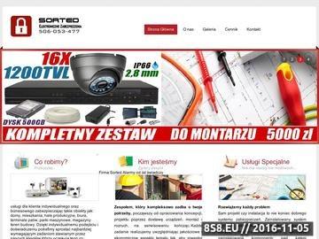 Zrzut strony Systemy alarmowe: projektowanie, instalacja, konserwacja