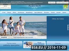 Miniaturka domeny www.albatros-jaroslawiec.pl