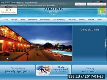 Zrzut strony Konferencje i szkolenia nad morzem - Albatros