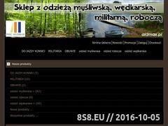 Miniaturka domeny www.aldmax.pl