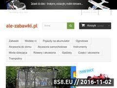 Miniaturka domeny ale-zabawki.pl