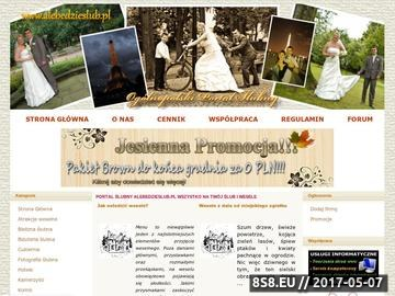Zrzut strony Portal Ślubny - Wszystko na Ślub i Wesele