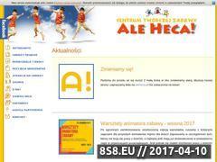 Miniaturka domeny www.aleheca.com.pl