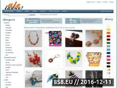 Miniaturka domeny www.aleladne.pl