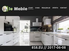 Miniaturka domeny alemeble.com.pl