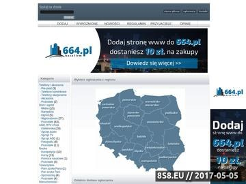 Zrzut strony Ogólnopolski serwis ogłoszeń online - Aleogloszenia.pl - tu się wpromujesz