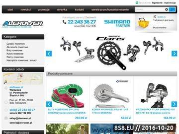Zrzut strony Sklep alerower.pl - części i akcesoria