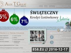 Miniaturka domeny www.alextg.pl