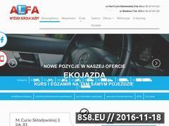 Miniaturka domeny alfa.bialystok.pl