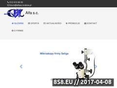 Miniaturka domeny www.alfasc.krakow.pl
