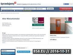 Miniaturka domeny aliornieruchomosci.sprzedajemy.pl