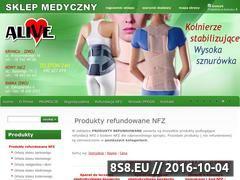 Miniaturka domeny www.alive-sklep.pl