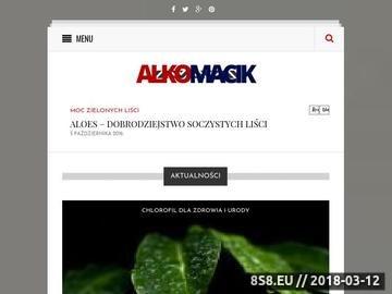 Zrzut strony Alkomaty