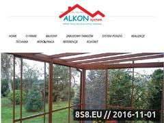 Miniaturka domeny www.alkonplus.com.pl
