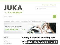 Miniaturka domeny alkotestery.com
