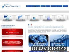 Miniaturka domeny all-grants.pl