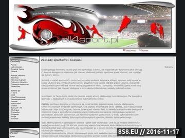 Zrzut strony Zakłady sportowe online