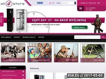 Zrzut strony Meble sklepowe, wyposażenie sklepów i aranżacja wnętrz.